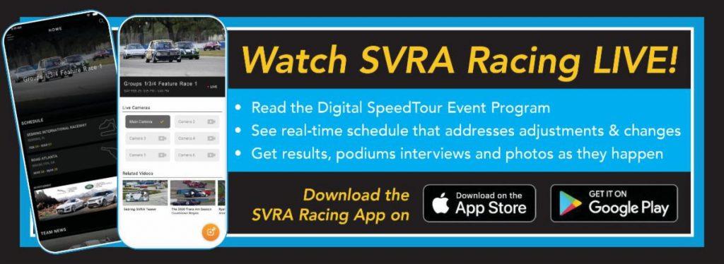 SVRA racing live