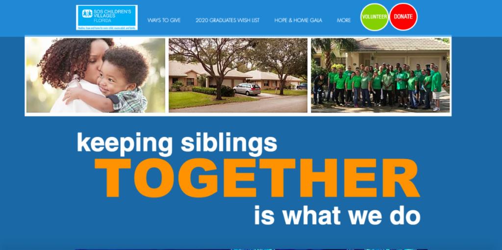 keeping siblings together