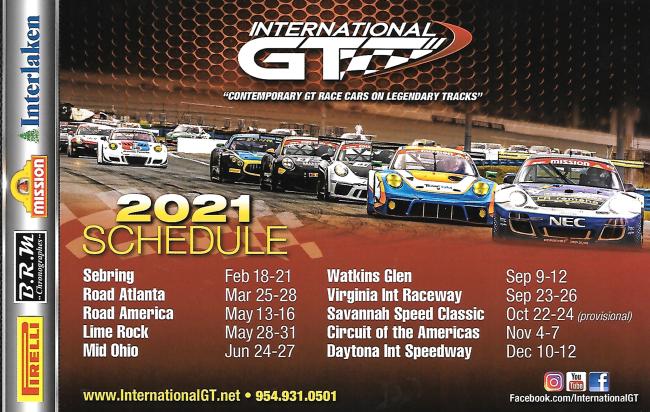 IGT schedule