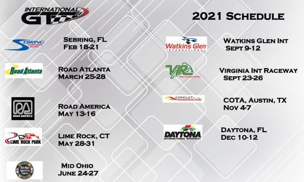 IGT 2021 Schedule