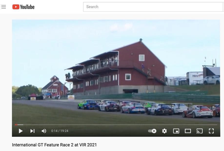 IGT VIR Sprint Race #2 video